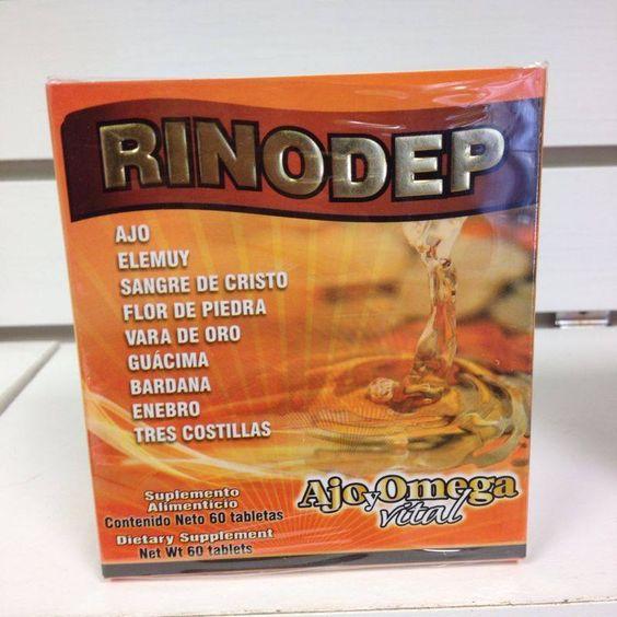 Tabletas Rinodep, para Piedras en el Rinon, Piedras en la Vesicula, Cistitis,Nefritis, Insuficiencia Renal, Infecciones de los Rinones, Colico Renal, Colico Biliar