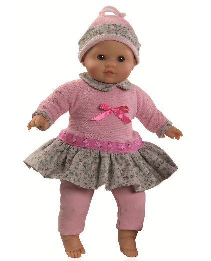 "Pink 14"" baby doll, Paola Reina, Los Manu | Paola Reina America"