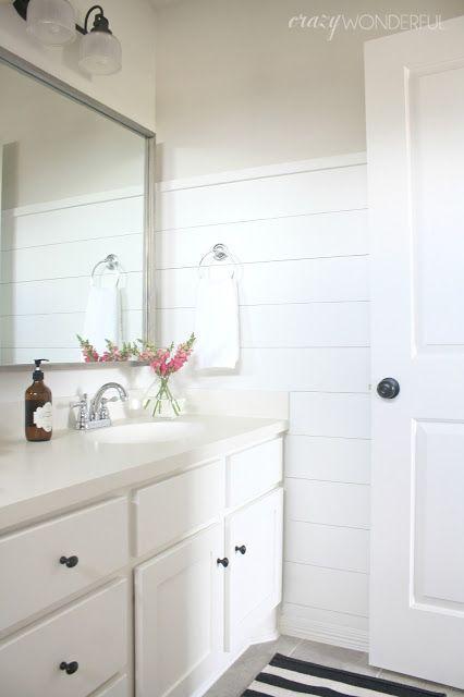 Pinterest the world s catalog of ideas for Bathroom ideas with shiplap