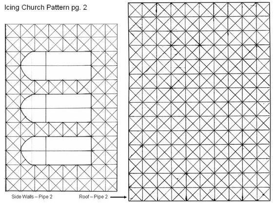 Cake Glase Pattern