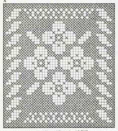 crochet em revista: esquema crochet