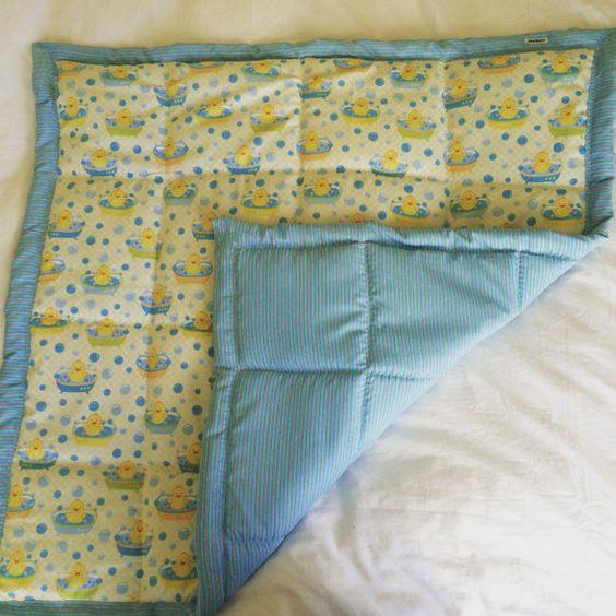 Baby blanket / Baby quilt DUCKS by MaHEROsydney on Etsy