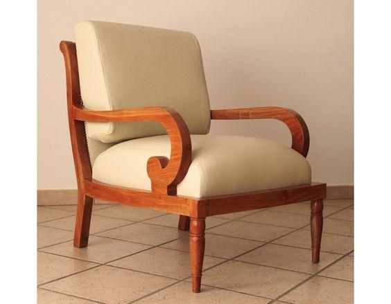 Kirschholz Sessel von Antica Ebanisteria Gambella auf DaWanda.com