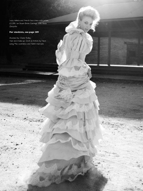 Elegant Wedding Magazine featuring Bellevue by Ian Stuart