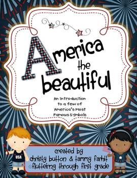 FREEBIE!! America, the Beautiful - An Introduction to American Symbols