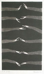 : Aoki Tetsuo, Hands Move, Hand Aoki, Hand Art, Art Illustration, Helping Hands, Holding Hands