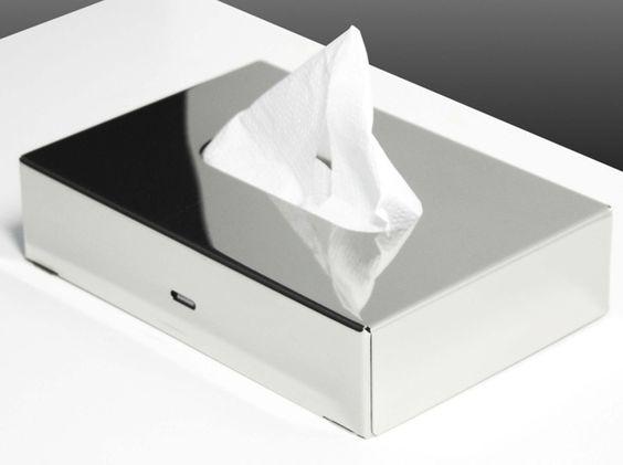 Porta Kleenex - #arredamento #furniture #accessori #bagno #wc #mobili #bagno #acciaio #inox #cromoterapia #vetro #sanitari #lampade #moderno #azienda #lusso #specchi #cristallo #arredobagno #rubinetteria #vasca #docce #doccia #italian #style #italia #italy #produzione #industria #lavabi #piani #design #soffioni #boxdoccia #box #madeinitaly #made #bathroom #bath #stainless #steel #shower #head #led #light #modern #mirror #taps #rain #waterfall #pioggia #cascata #industrial #product