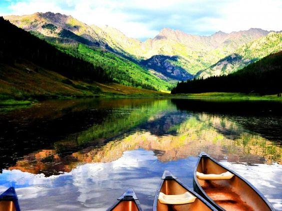 Piney Lake, Vail, Colorado - Vail, CO, USA