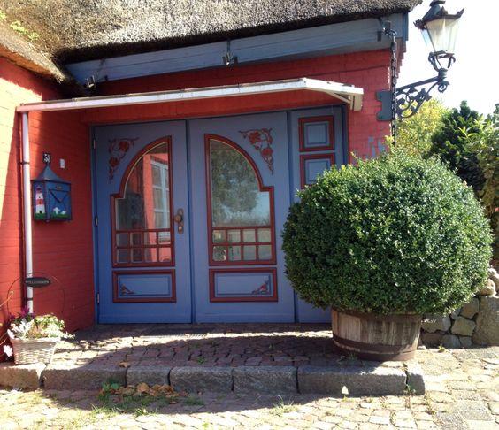 Die Tür von einem meiner Lieblinghäuser in meiner Umgebung.