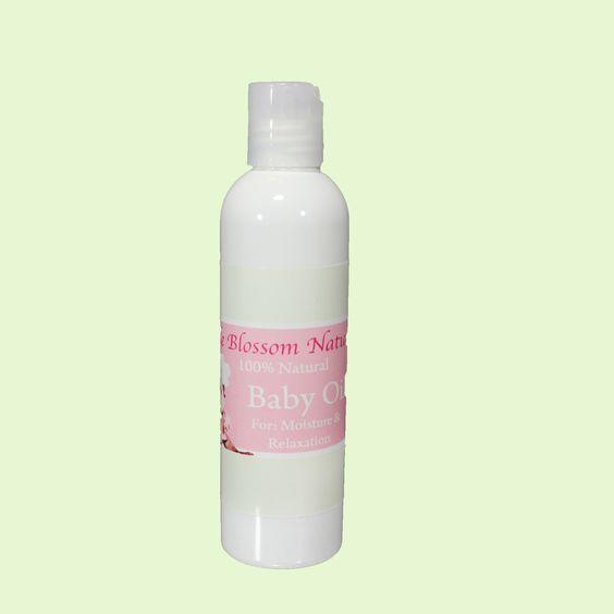 Apple Blossom Naturals - Baby Massage Oil, $9.50 (http://www.appleblossomnatural.com/baby-massage-oil/) www.appleblossomnaturals.com/#100206