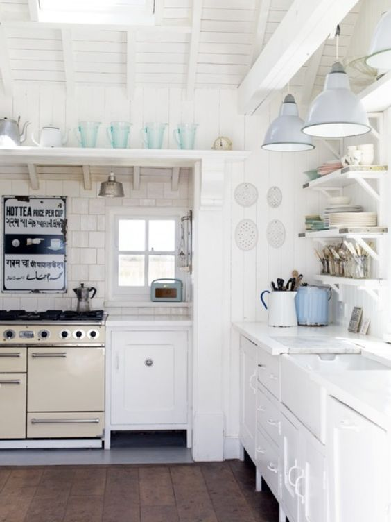 Stove vintage kitchen and shelf brackets on pinterest for Kitchen cabinets 2nd ave brooklyn