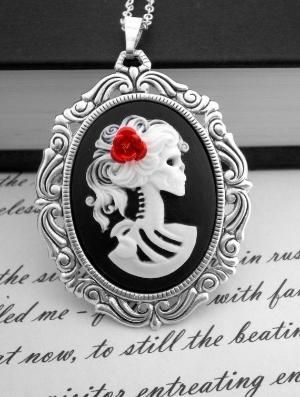 Zombie Skeleton Necklace