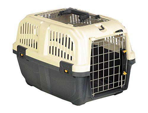 """Nobby 72134 Transportbox für kleine Hunde und Katzen """"Skudo 1 Open"""" 48 x 31.5 x 31 cm - http://www.transportbox-katzen.de/produkt/nobby-72134-transportbox-fuer-kleine-hunde-und-katzen-skudo-1-open-48-x-31-5-x-31-cm/"""