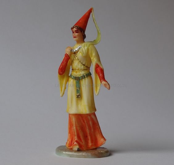 Hausser Elastolin ref : 8810 Dame du chateau 1ère peinture