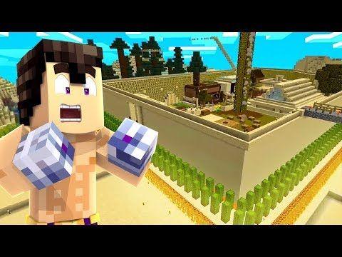 La Gran Muralla Minecraft Con Noobs Youtube Minecraft