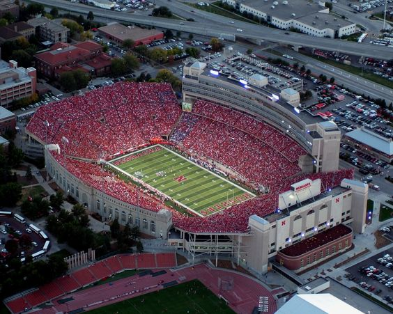 One of the greatest places on earth - Memorial Stadium, Lincoln, Nebraska.