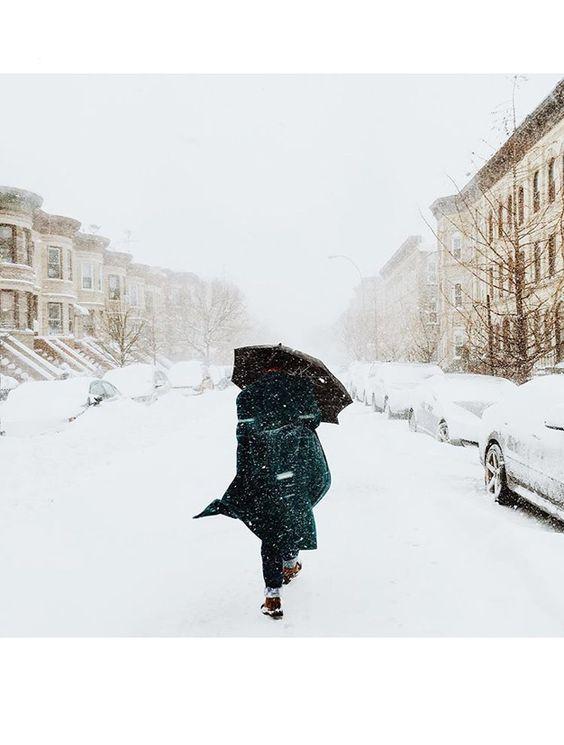NYC, Snowzilla 2016 New York