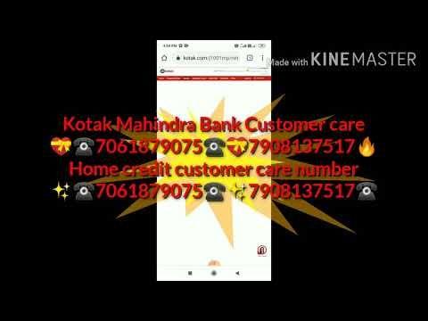 7061879075 Kotak Mahindra Bank Credit Card Customer Care Number Youtube In 2020 Personal Loans Instant Loans Kotak Mahindra Bank