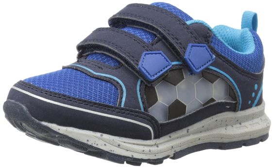 Carter's Light-Up Brady-B Sneaker (Toddler/Little Kid), Navy/Blue, 5 M US Toddler. Synthetic sole.