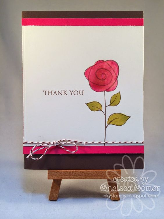 Chelsea's Creative Corner: Watering the Rose .... watercoloring with Splash from A Muse Studios.