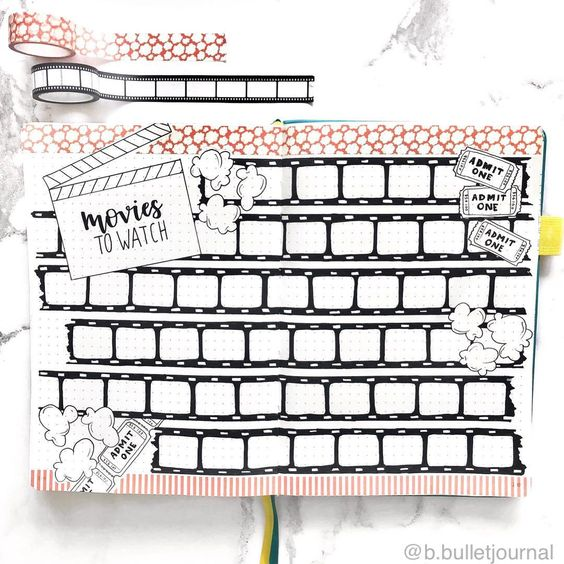 These bullet journal ideas aren't only unique and fun, but easy to copy too! Click through to find 15 unique bullet journal ideas.