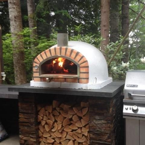 Authentic Pizza Ovens Pizzaioli Built In Or Countertop Wood Fired