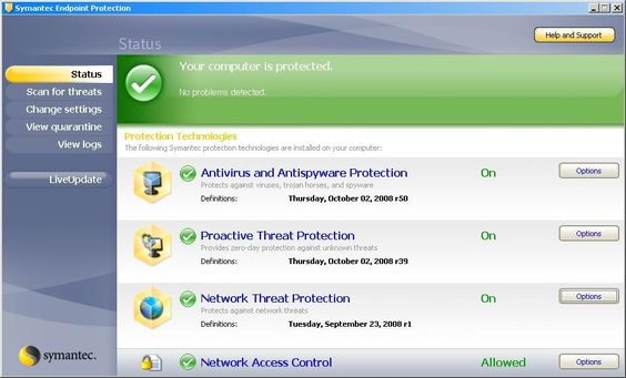 Symantec Endpoint Protection Preview