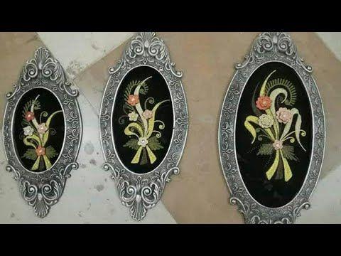 البوليستر وابداعاتة فى صناعة البراويز Youtube Diy Home Crafts Home Crafts Decoupage