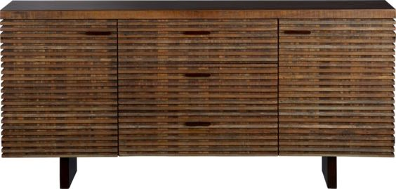 Paloma Large Sideboard in Dining, Kitchen Storage | Crate and Barrel