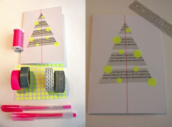2011 tree with neon dots