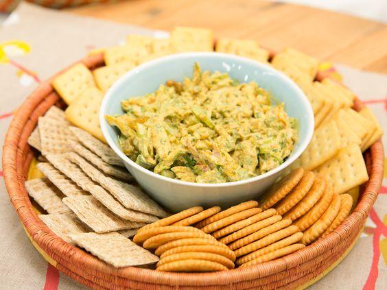 Curry chicken salad receta temporadas yogurt y ensaladas de pollo curry chicken salad recipe from the kitchen via food network forumfinder Image collections