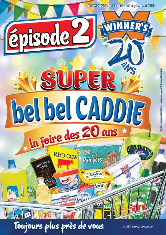 Winners: Bel Bel Caddie - Episode 2 | Winners | Pinterest