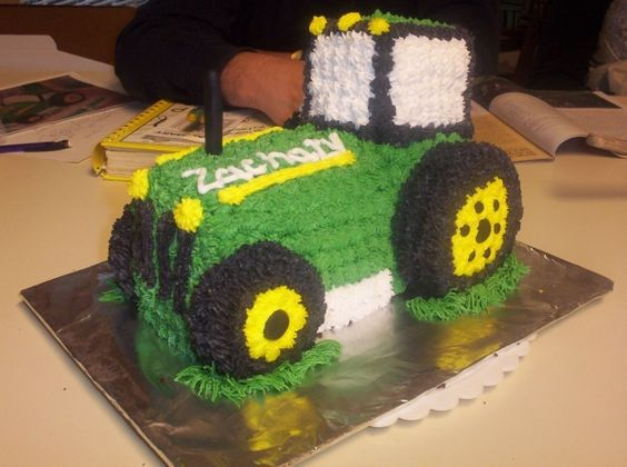 Tractor Cake You Should Make This For Camo Just Because