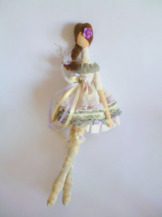 Handmade doll Tilda dolls Decorative Doll by ChernikovaNataliya:
