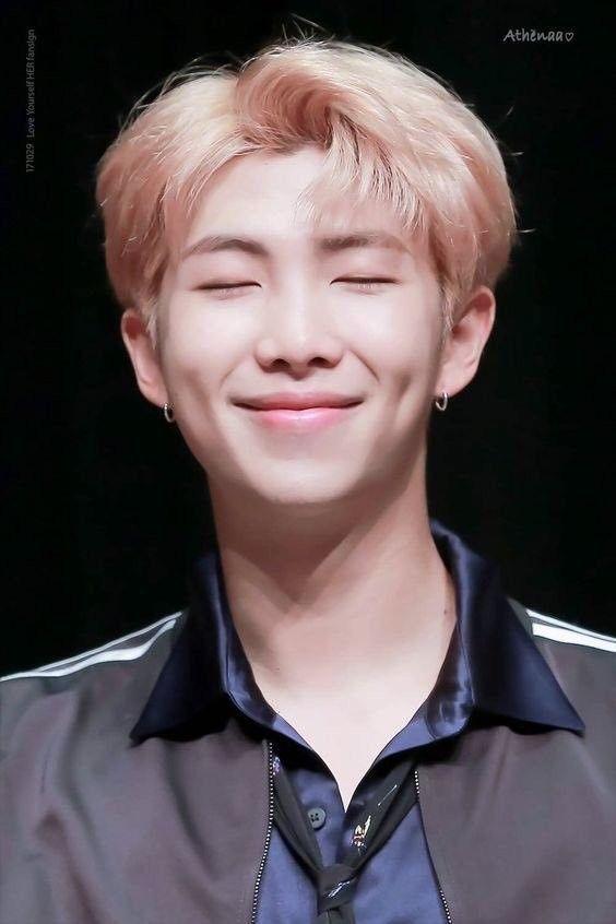 Such A Cute Smile I M Namjoon Bts Rap Monster Kim Namjoon