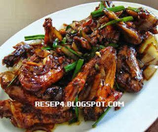 Resep Ayam Kecap Resep Ayam Resep Resep Masakan Malaysia