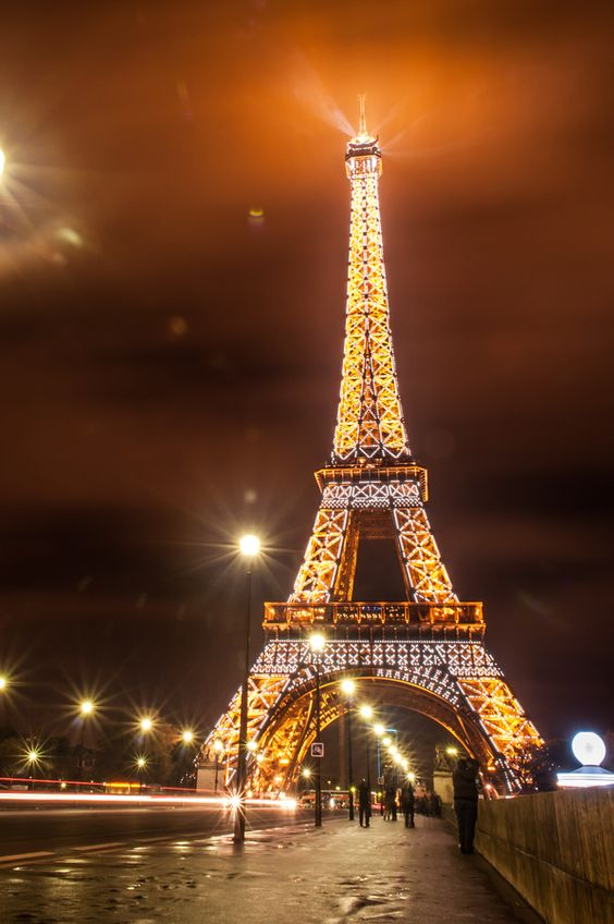 Eiffel Tower @ Night #Paris