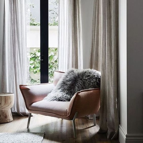 Our Lewis armchair captured by @sharyncairns in a project by @griffiths.design.studio #athomewithjardan #armchair