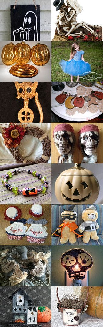 SpoOoOoky Halloween Decor! by Blythe on Etsy--Pinned with TreasuryPin.com
