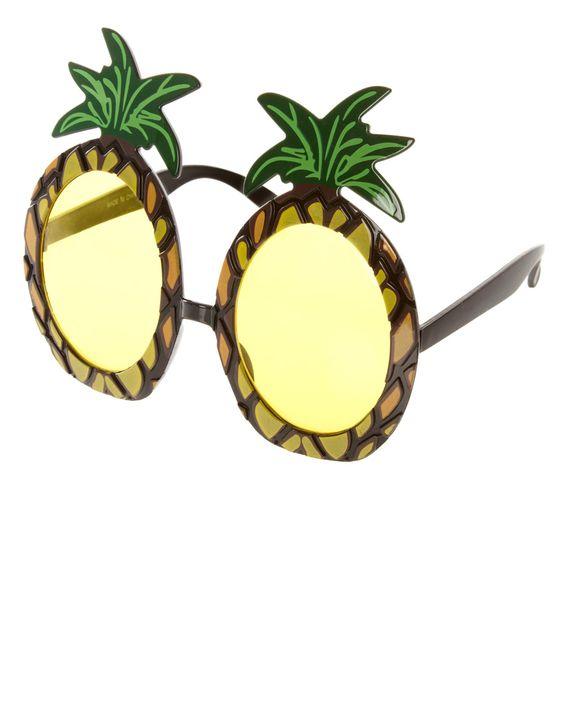 Seeing Pineapple, Glasses