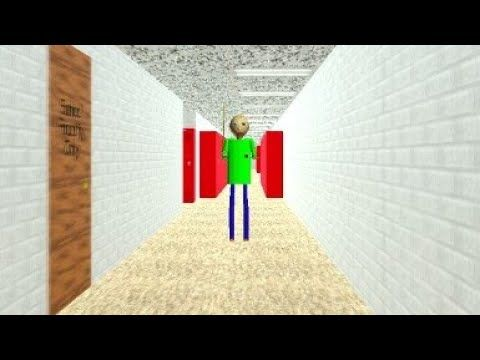 Baldi S Basics Weird Experiences Youtube Baldi S Basic In