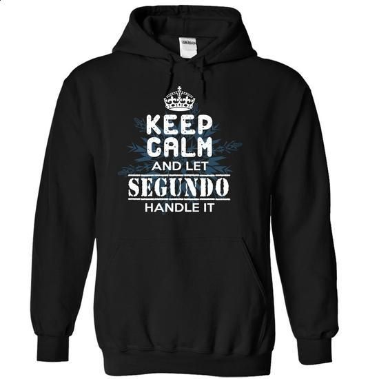 14-12 Keep Calm and Let SEGUNDO Handle It - #retirement gift #gift for kids