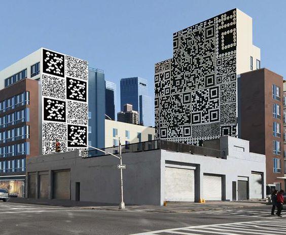 Qr Code Nyc Mural Murals Street Art Architecture