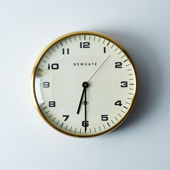 Chrysler Brass Wall Clock on Food52