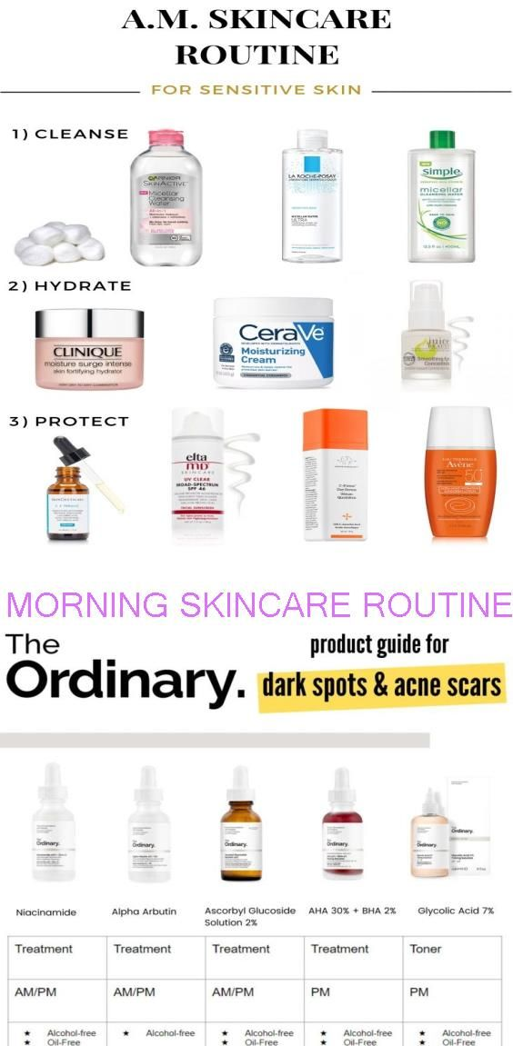 Pin By Marcella Hogan On Beauty Products I Must Have Morning Skin Care Routine Skin Care Routine Morning Skincare