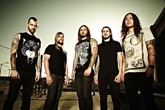 As I Lay Dying will be releasing their new album 'Awakened' on September 25. You can preview a new song Wasted Words below.
