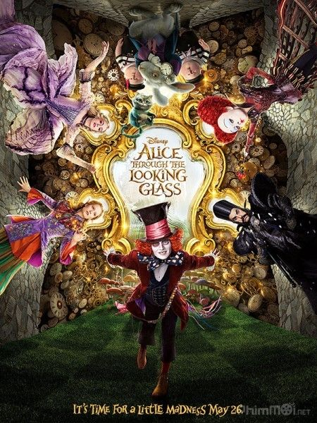 Phim Alice Ở Xứ Sở Diệu Kỳ 2: Alice Ở Xứ Sở Trong Gương - Alice in Wonderland 2: Alice Through the Looking Glass (2016)