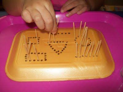 shapes activity - Mi Escuelita Montessori actividad de aprender las formas