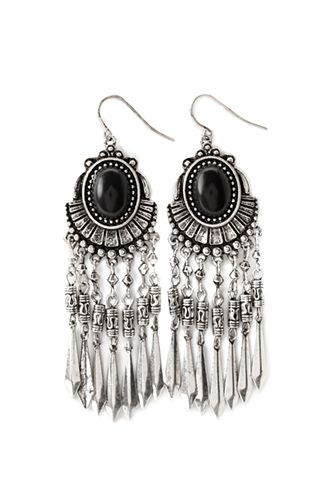Faux Stone Drop Earrings | FOREVER21 - 1000078794: