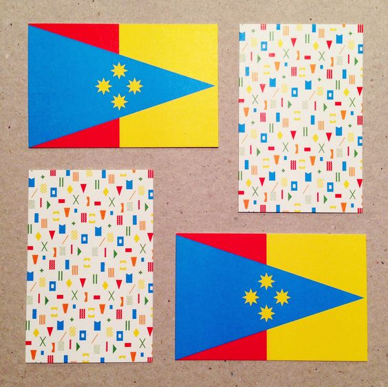 New Flagge Haus business cards #flag